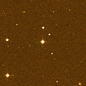 The Milky Way star field around CS 31082-001.