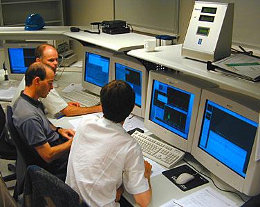 The VLTI Control Room