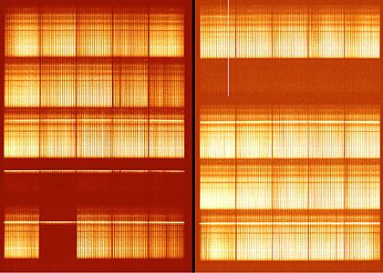 VIMOS Integrated Field-Spectrum of Antennae Galaxies