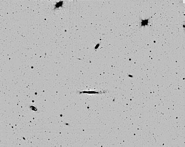 Sky Field in Virgo Cluster of Galaxies