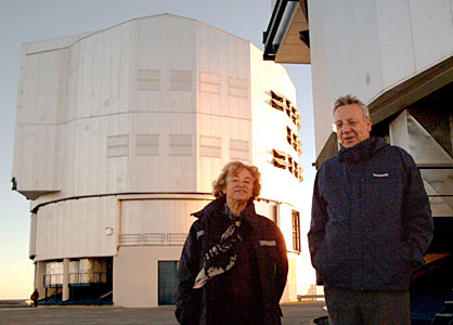 Commissioner Busquin visits Paranal I