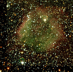 DEM L 144 near N44 in the Large Magellanic Cloud