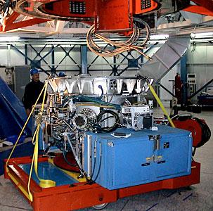 VISIR under the Cassegrain Focus of the VLT/Melipal Telescope