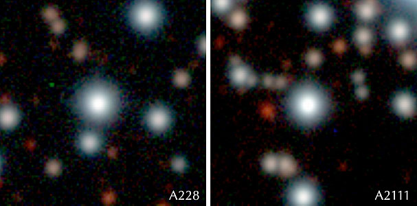 Turn-Off Stars A0228 and A2111 in NGC 6397