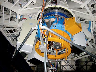 SINFONI Adaptive Optics Module at VLT Yepun (June 2004)