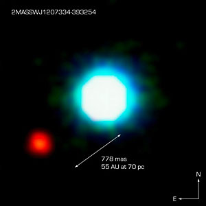 The Brown Dwarf 2M1207 and its Planetary Companion