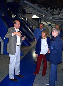 Dutch Minister Maria van der Hoeven at Paranal - II