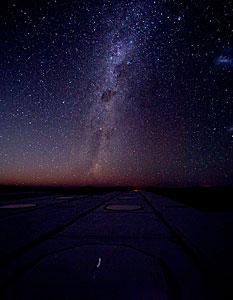 Sky above Paranal