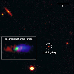 The Distant Galaxy K20-ID5