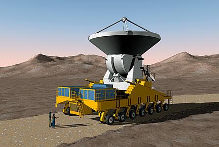 Transport of an ALMA antenna
