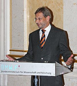 Austrian Minister Johannes Hann
