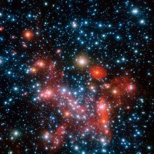 Das Zentrum der Milchstraße