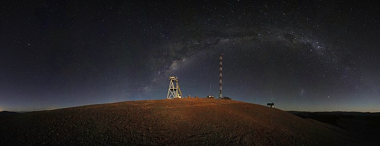 Cerro Armazones night-time panorama*
