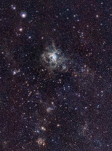 Der Tarantelnebel im VISTA Magellanic Cloud Survey