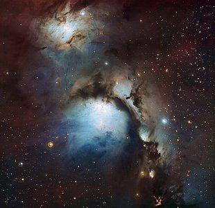 Messier 78: uma nebulosa de reflexão em Orion