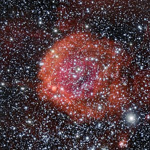 The star cluster and nebula NGC 371