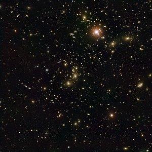 Cúmulo de Pandora — la investigación de un choque galáctico
