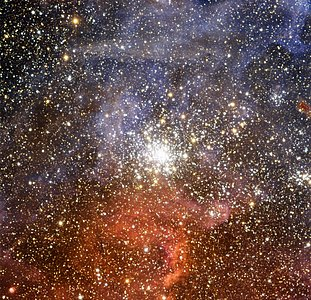 The star cluster NGC 2100 in the Large Magellanic Cloud