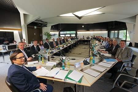 The ESO Council during their meeting in Garching on 11–12 June 2012