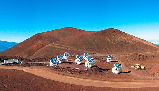 The Submillimeter Array (SMA) on Mauna Kea, Hawaii