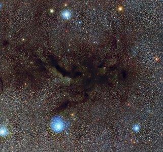 A boquilha da Nebulosa do Cachimbo