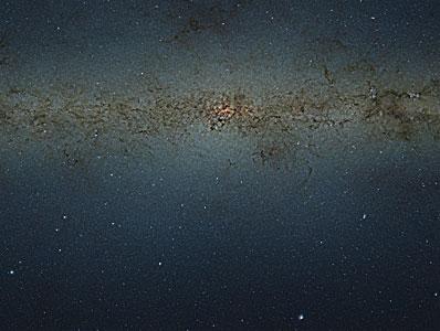 Mosaico VISTA de vários gigapixeis das regiões centrais da Via Láctea