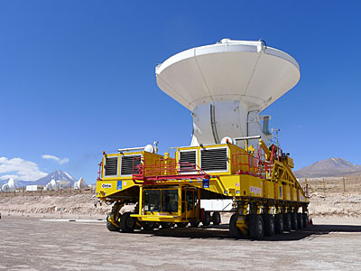 The final ALMA antenna is handed over to the observatory