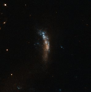 The dwarf galaxy UGC 5189A, site of the supernova SN 2010jl