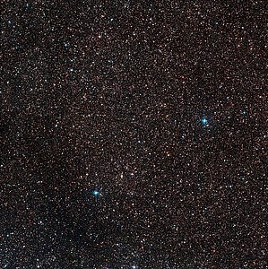 The sky around the location of Nova Centauri 2013