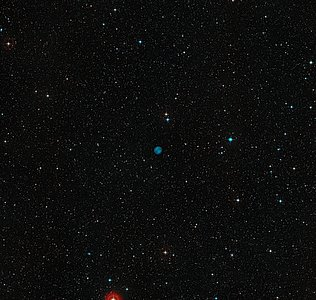 The sky around the location of the planetary nebula ESO 378-1