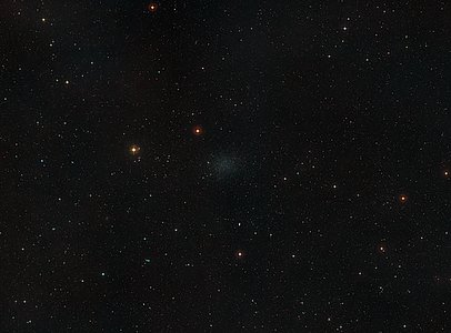 Wide-field image of the sky around the Sculptor Dwarf Galaxy