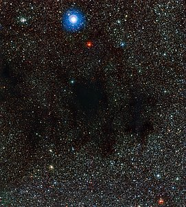 Part of the Coalsack Nebula