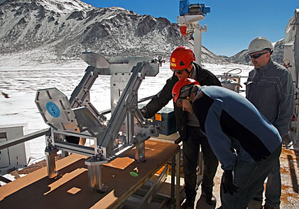 New APEX instrument for finding water in the Universe