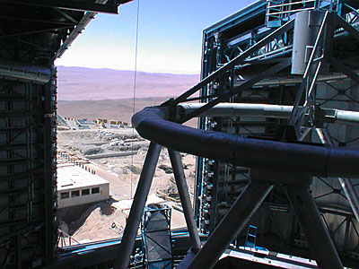 The View form the Unit Telescope 1 Enclosure