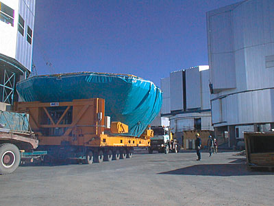 Preparations for VLT UT1 First Light
