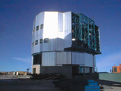 Construction of VLT UT4