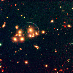 Galaxy Cluster CL2244-02 with Gravitational Arcs