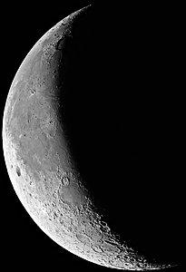 La Luna en Menguante