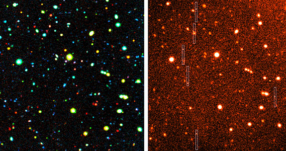 MOS Observations of Distant Galaxies