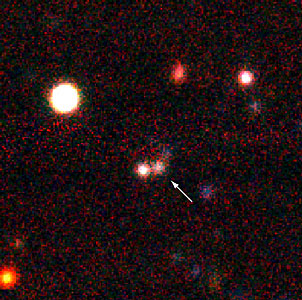 Distant Galaxy EIS 47 (z=2.8)