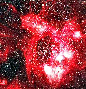Detail of N44 in the Large Magellanic Cloud