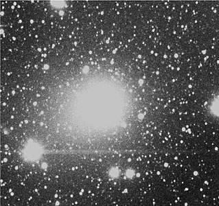The Enormous Coma of Comet Hale-Bopp