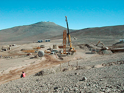Paranal Residencia: Future Location