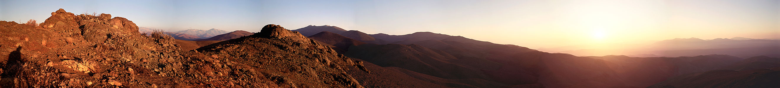 Panoramic View with La Silla
