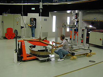 Lifting of the M3 MELIPAL Mirror
