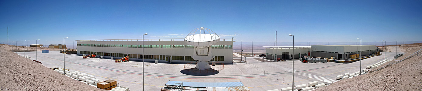 Panorama of the ALMA Operational Support Facility