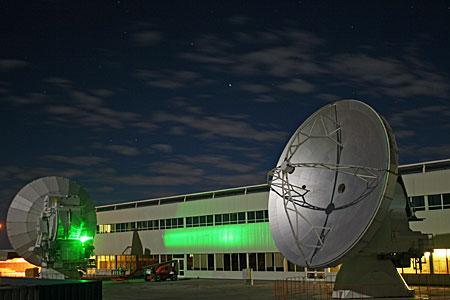ALMA OSF at night