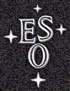 ESO logo mosaic