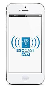ESOcast HD iPhone5 Mockup