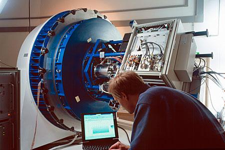 VLT Test Camera in Integration Lab